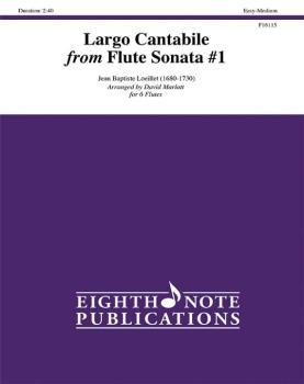 Largo Cantabile from Flute Sonata #1 (AL-81-F16115)