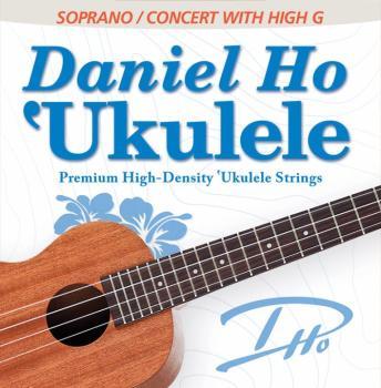 Daniel Ho 'Ukulele Premium High-Density Ukulele Strings: Soprano / Con (AL-98-DHC80112BX)