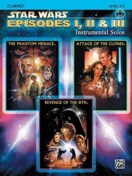 <I>Star Wars</I>®: Episodes I, II & III Instrumental Solos (AL-00-IFM0520CD)
