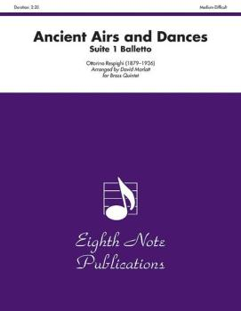 Ancient Airs and Dances (Suite 1 Balletto) (AL-81-BQ28303)