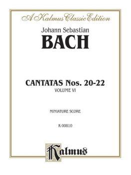 Cantatas No. 20-22, Volume VI (AL-00-K00810)