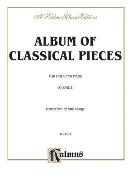 Album of Classical Pieces, Volume II (AL-00-K04304)