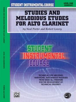 Student Instrumental Course: Studies and Melodious Etudes for Alto Cla (AL-00-BIC00112)