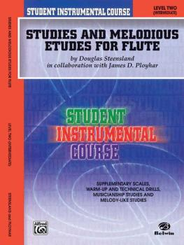 Student Instrumental Course: Studies and Melodious Etudes for Flute, L (AL-00-BIC00202A)