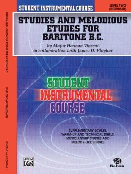 Student Instrumental Course: Studies and Melodious Etudes for Baritone (AL-00-BIC00262A)
