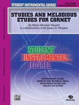 Student Instrumental Course: Studies and Melodious Etudes for Cornet,  (AL-00-BIC00347A)