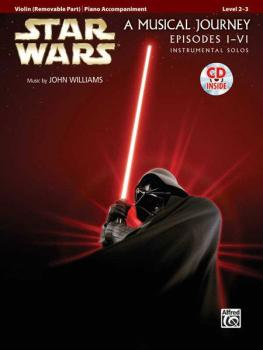 <I>Star Wars</I>® Instrumental Solos for Strings (Movies I-VI) (AL-00-32125)