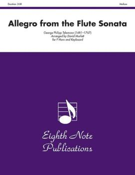 Allegro (from the Flute Sonata) (AL-81-SH2214)