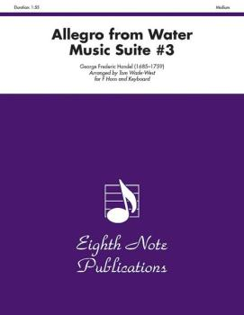 Allegro (from <i>Water Music</i> Suite #3) (AL-81-SH982)