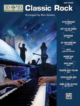 10 for 10 Sheet Music: Classic Rock (AL-00-32194)