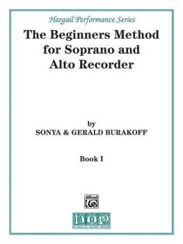 The Beginners Method for Soprano and Alto Recorder, Book 1 (AL-00-H51)