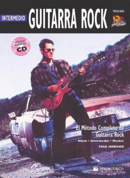 Guitarra Rock Intermedio [Intermediate Rock Guitar]: El Metodo Complet (AL-00-41988)