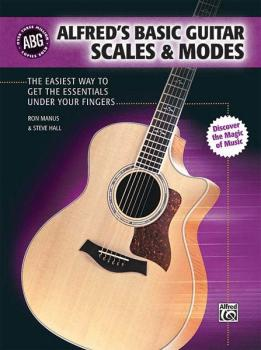 Alfred's Basic Guitar Scales & Modes: The Easiest Way to Get the Essen (AL-00-32551)