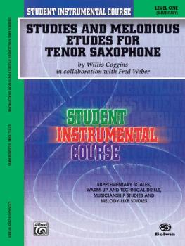 Student Instrumental Course: Studies and Melodious Etudes for Tenor Sa (AL-00-BIC00137A)