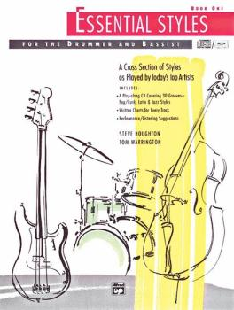 Essential Styles for the Drummer and Bassist, Book 1: A Cross Section  (AL-00-4300)