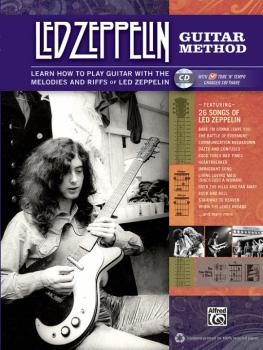 Led Zeppelin Guitar Method: Learn How to Play Guitar with the Melodies (AL-00-33568)