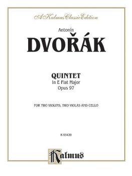 String Quintet in E-flat Major, Opus 97 (For Two Violins, Two Violas a (AL-00-K03420)