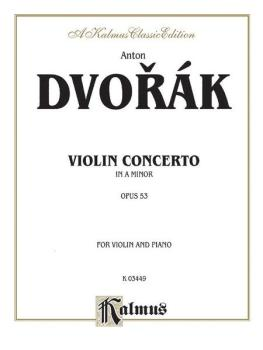 Concerto in A Minor, Opus 53 (AL-00-K03449)