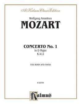 Horn Concerto No. 1, K. 412 (AL-00-K03704)