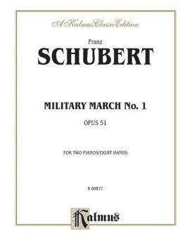 Military March No. 1, Opus 51 (AL-00-K03877)