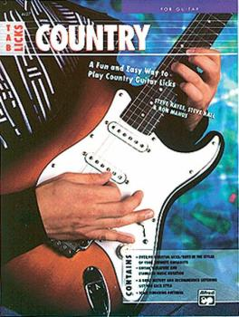 TAB Licks: Country Guitar: A Fun and Easy Way to Play Country Guitar L (AL-00-4427)