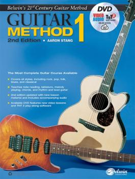 Belwin's 21st Century Guitar Method 1 (2nd Edition): The Most Complete (AL-00-44446)
