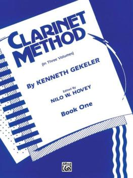 Belwin Clarinet Method, Book I (AL-00-EL00321)
