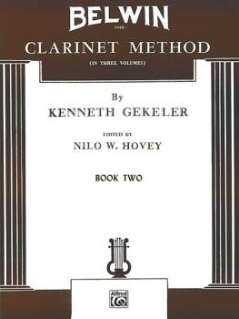 Belwin Clarinet Method, Book II (AL-00-EL00322)